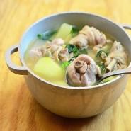 Tinolang Manok [With Rice + Soup]