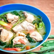Sinigang Na Manok [With Rice + Soup]