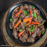 Beef Stir Fry [With Rice + Soup]
