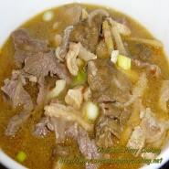 Papaitan Baka [With Rice + Soup]