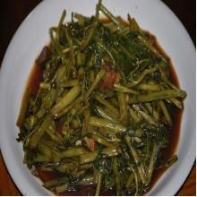 Adobong Kangkong/Bulalo [With Rice]
