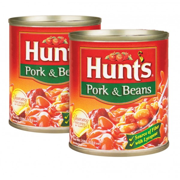 Hunts Pork and Beans ( 2 packs)