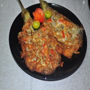 Tortang Talong /Adobo Manok [With Rice]