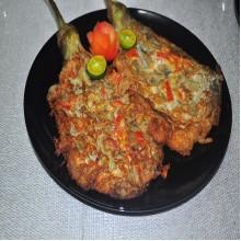 Tortang Talong /Adobo Manok [With Rice]