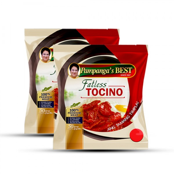 Pampangas Best Fatless Tocino 20%off(Value Pack)