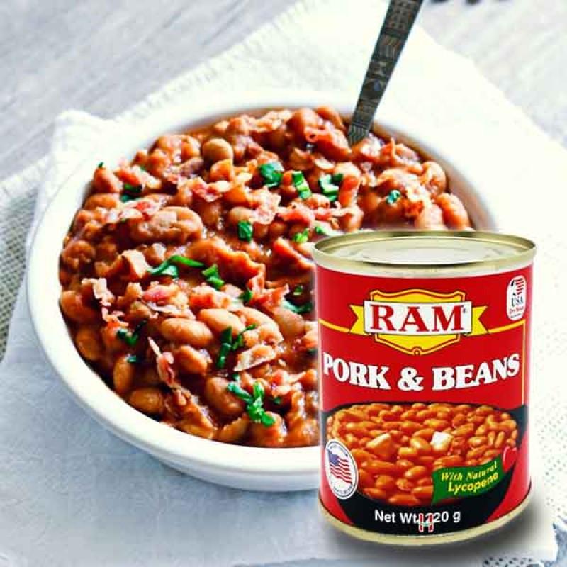 Ram Pork & Beans