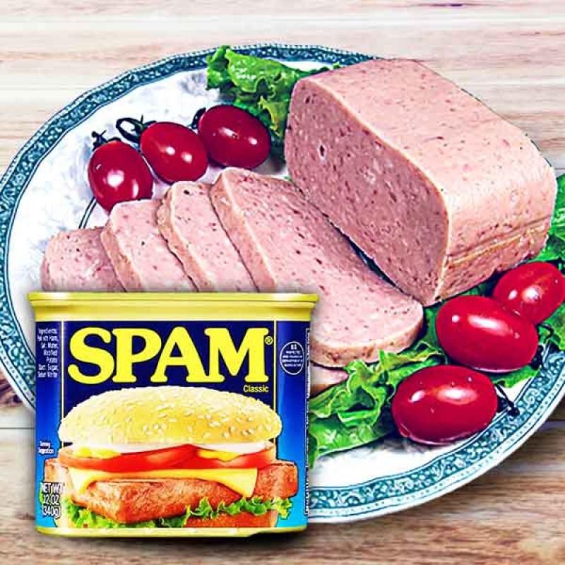 Spam Luncheon Meat Pork