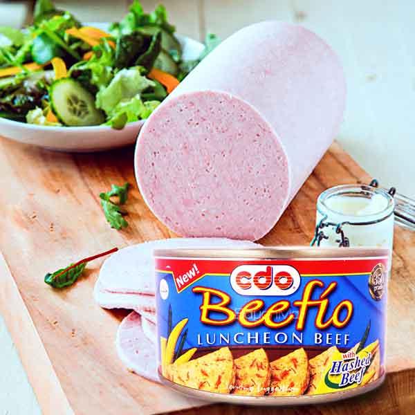CDO Beefio Luncheon Meat Pork