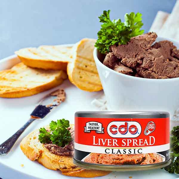 CDO Liver Spread Pork