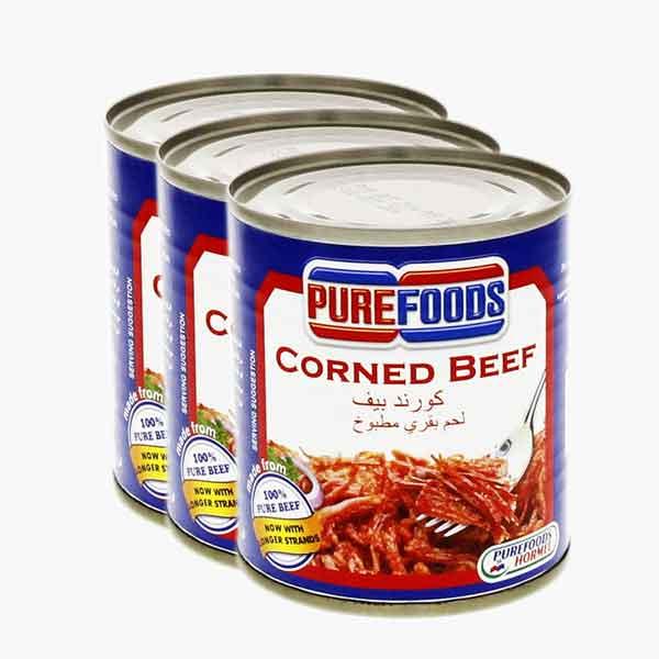 Purefood Corned Beef (3 Packs)
