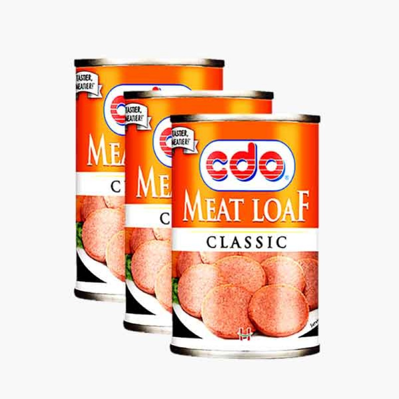 CDO Meat Loaf (3 Packs)