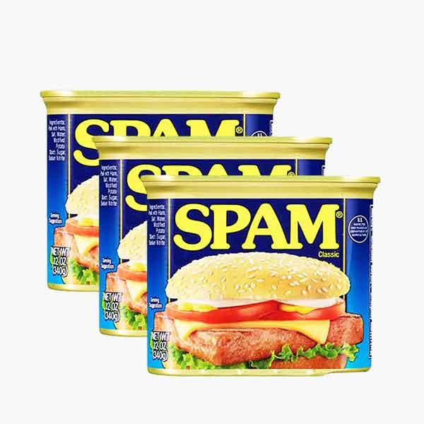 Spam Luncheon Meat Pork (3 Packs)