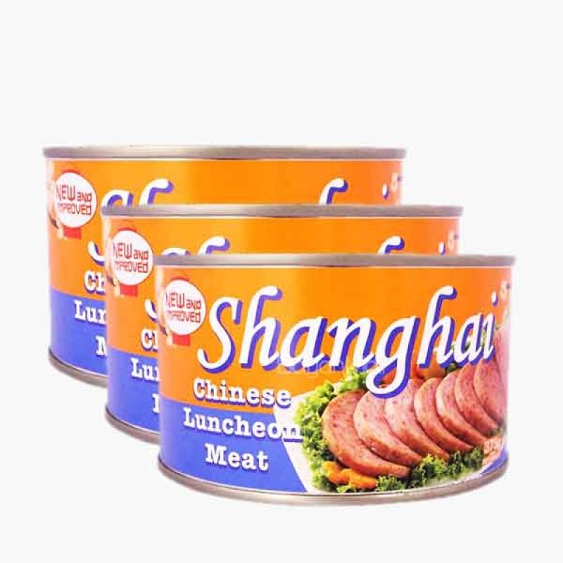Shangai Luncheon Meat Pork (3 Packs)