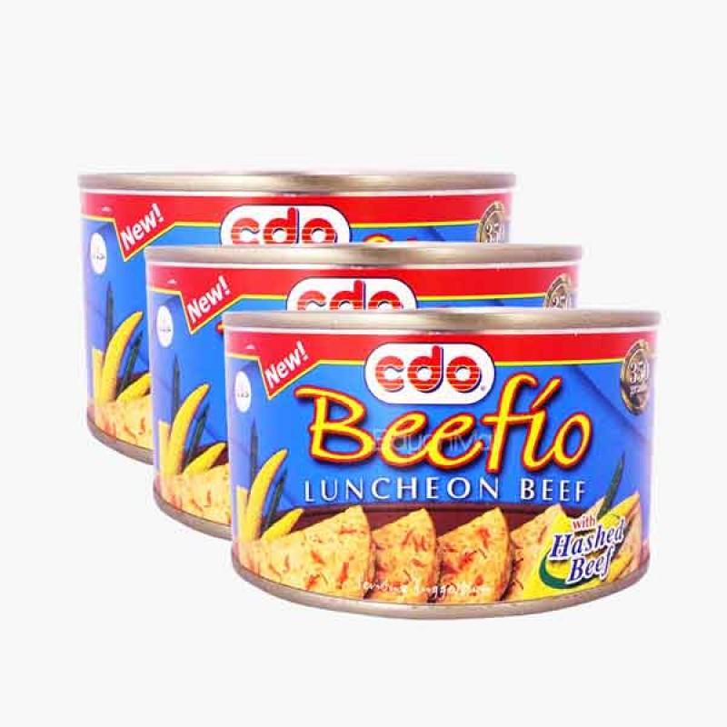 CDO Beefio Luncheon Meat Pork (3 Packs)