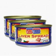 Purefood Liver Spread Pork (3 Packs)
