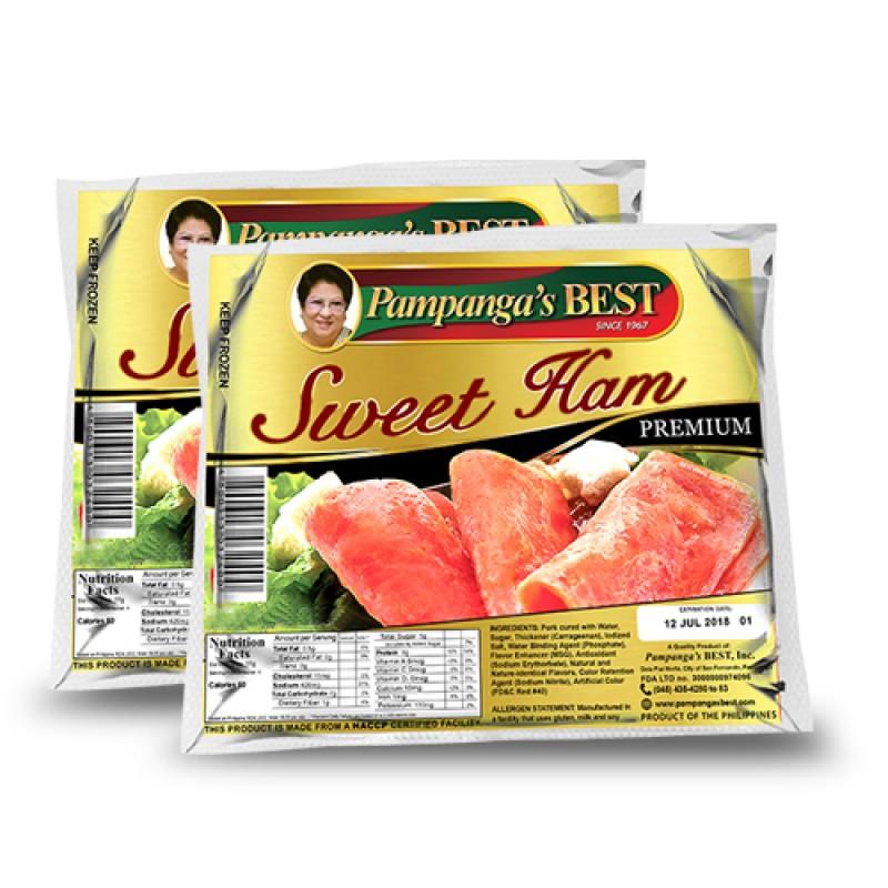 Pampangas Premium Sweet Ham 20% Off (Value Pack)